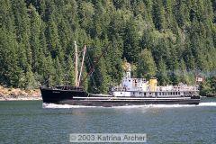 VI 360 Boats 00 - Vancouver to Nootka Sound