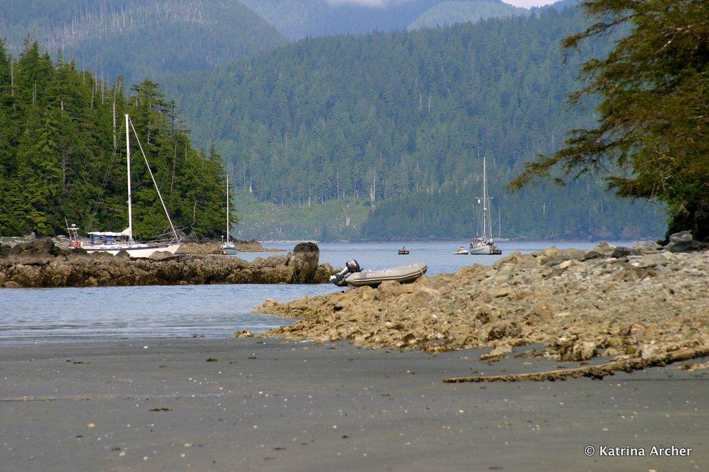 Boats, Columbia Cove, Brooks Peninsula